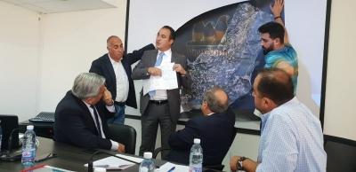 خطوات متقدمة على طريق الحل الجامع والشامل لمعمل المعالجة في بيت مري