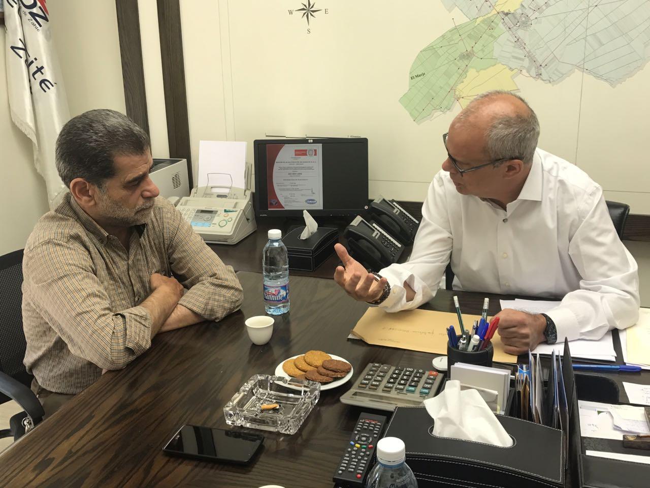 رئيس بلدية علي النهري زار نكد  مطالبا التمديد لامتياز كهرباء زحلة