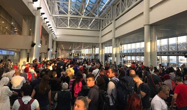 وضع المطار لا يتحمّل اي تأخير