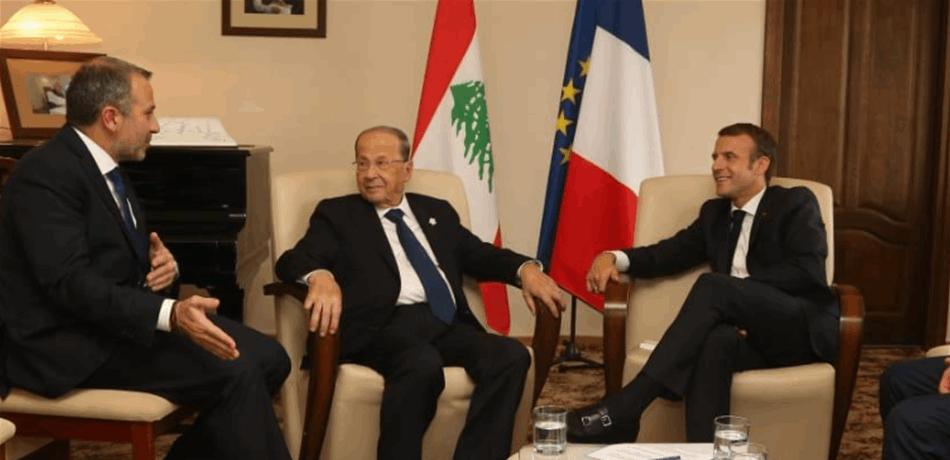 عون بعد لقائه ماكرون: تشكيل الحكومة أمر لبناني صرف