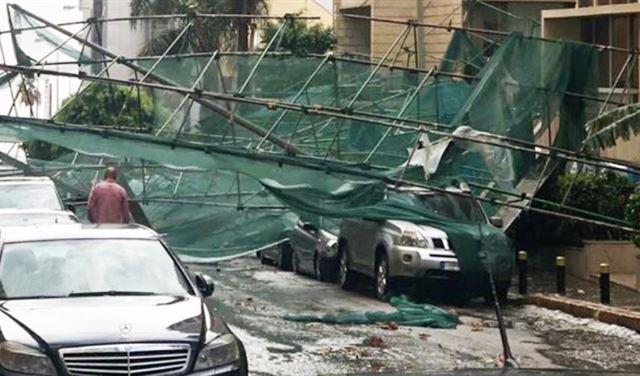 العاصفة تضرب لبنان وهذه بعض إرشادات المديرية العامة للدفاع المدني