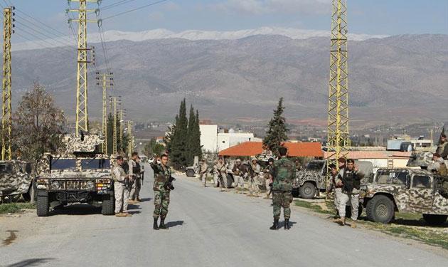 هذا ما ضبطه الجيش في بلدة الكنيّسة البقاعية