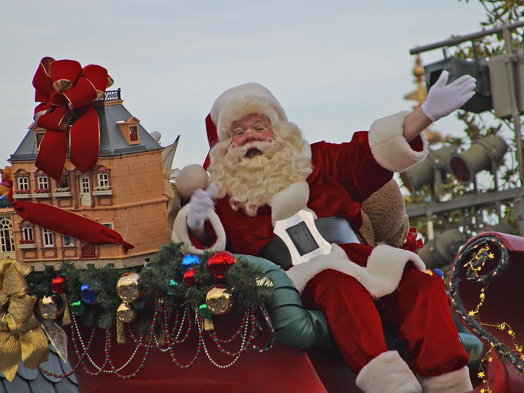 بابا نويل... لوين جايي!؟