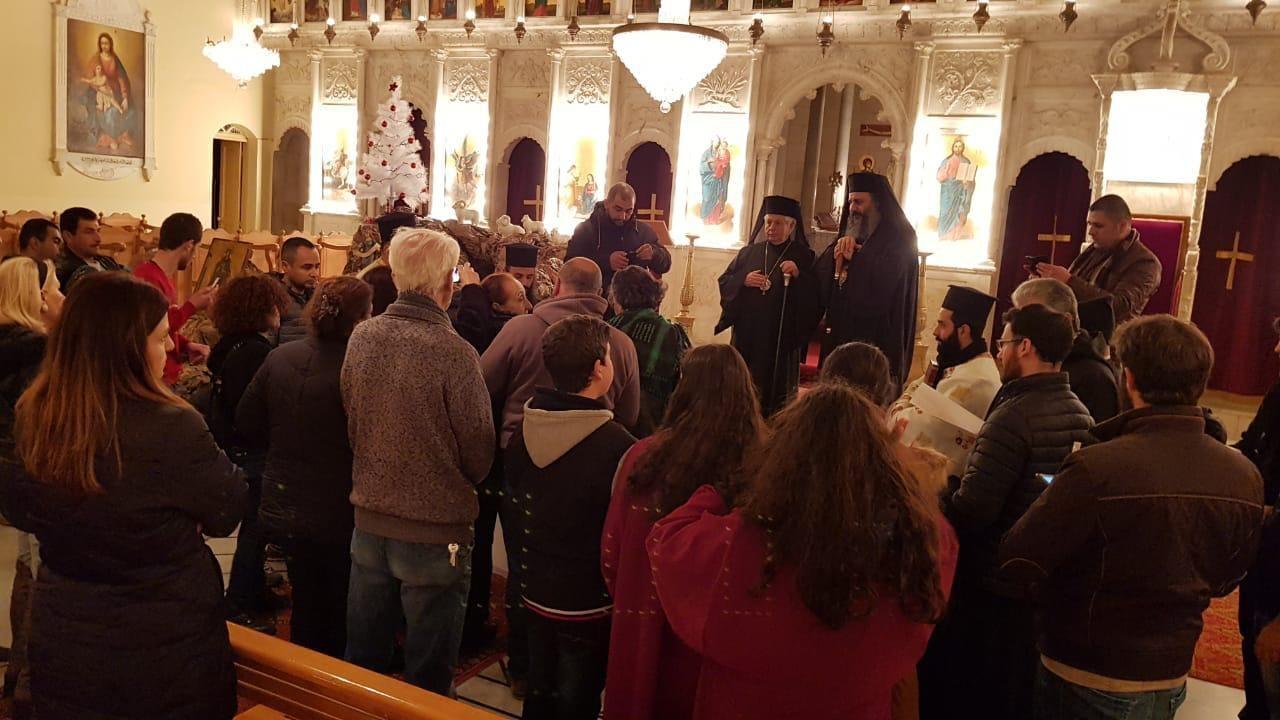 بعلبك تباركت برفات القديسة بربارة وزياح جاب الكنائس والساحات