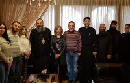 المتروبوليت أنطونيوس الصوري يعقد اجتماعاً مع لجنة الإعلام المصغرة في الأبرشية