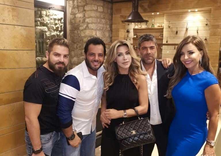 وائل كفوري يحتفل بعيد ميلاد نوال الزغبي.. هل تتطور صداقتهما للزواج؟