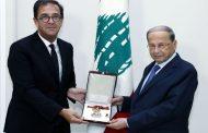 الرئيس عون: متمسك بالمبادرة الفرنسية